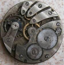 Marvin vintage pocket watch movement & dial 41 mm. in diameter