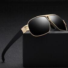 Men TR90 Polarized Sunglasses Full Rim Rx able UV400 Brand New Sun Glasses