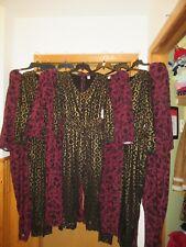 Women's Print Party Jumpsuit Old Navy 2XL,XL,L,M,S,Long Sleeve,Elastic waist  NW