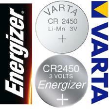 Varta Energizer CR2450 3V Volt NEU Batterien Knopfzellen