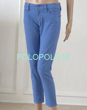 New $98 Ralph Lauren Denim Supply Women Cropped Skinny Jeans Pants 26 27 30 31