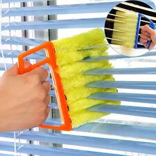 Washable Venetian Blind Cleaner Duster Brush 7 Slats Easy Cleaning Supply Well