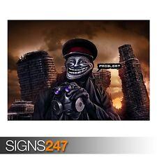 Troll capitán (AD403) Gracioso Poster-FOTOS arte cartel impresión A0 a A4
