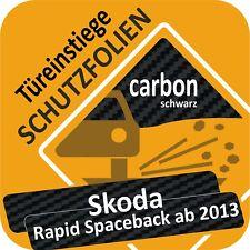 Skoda Rapid ab 2012 Tür Einstiegsleisten Schweller Auto Schutz Lackschutzfolie