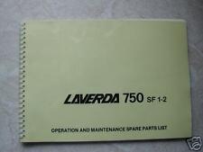 Laverda 750 SF1-2 Workshop Manual