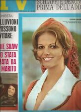 [KMJ] TV SORRISI E CANZONI ANNO 1968 N°46 CLAUDIA CARDINALE SANDIE SHAW