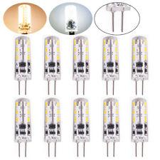 10x G4 2W LED Birne Lampe Leuchtmittel Glühbirne Stiftsockel 12V Licht Warmweiß