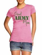 !!CLEARANCE SALE!! Proud Army Mum T Shirt Top Son War Top !!CHEAP!!STOCK!! CEM2