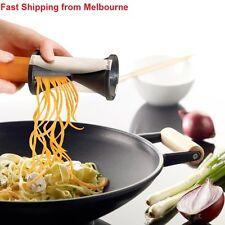 2x Spiral Veggie Fruit Slicer Cutter Easy Veggie Spaghetti Pasta Assorted Color