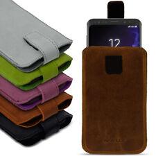 Handyhülle Ledertasche Samsung Galaxy S9 Plus Pull Tab Sleeve Schutzhülle Cover