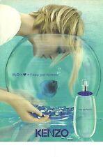 PUBLICITE 1997  AZZARO parfum EAU BELLE