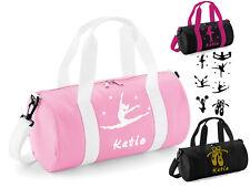 Kit De Bolsa De Danza Personalizado Chicas Bailarina De Ballet Rosa Negro Fuchia Bolsa de deporte