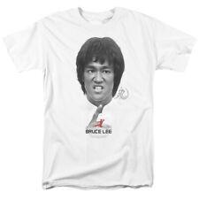Bruce Lee Self Help Licensed Adult T Shirt