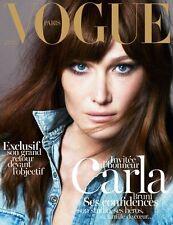 SEALED Vogue Paris + CALENDAR 2013 Gisele Bundchen Kate Moss YASMIN LE BON mint