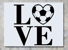 Love basket calcio in Sport Motto logo adesivo decalcomania parete arte foto