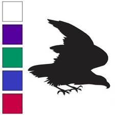 Eagle Hawk Falcon Decal Sticker Choose Color + Size #253