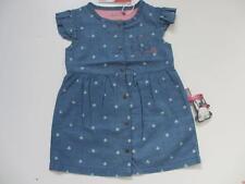 Neuwertig ! Baby Girl Blau Gr.74 Baby Mädchen Jeanskleid
