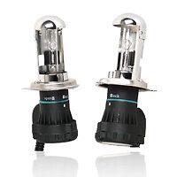 COPPIA LAMPADE FARI XENON H4 6000 K + RELE' BIXENON -3