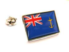 UK ROYAL FLEET AUXILIARY ENSIGN FLAG LAPEL PIN BADGE