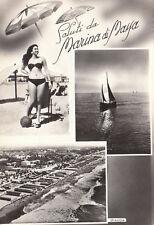 MARINA DI MASSA - BELLEZZE AL BAGNO- 1955