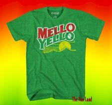 New Mello Yellow Soda Retro Coke Vintage Mens T-Shirt