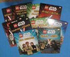 LEGO STAR WARS HARDBACKS ~ VARIETY OF TITLES ~ DK ~ YOU CHOOSE ~1 or ALL~1+ SHIP