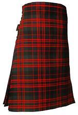 Mens 8 Yard MacDonald Tartan Casual Scottish Kilt Brand New With Tags