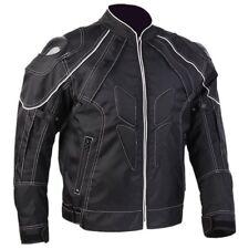 Black Motorcycle Jackets With Carbon Fiber Armor Shoulder Moto Jacket Men Women