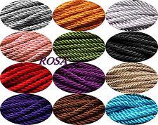 Kordel Dekorative Schnur 5mm Viskose  Dekoband Seil  3 oder 10 Meter *