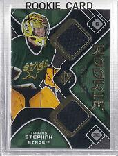 2007-2008 SPx Hockey Tobias Stephan Rookie Jersey Card #529/1599