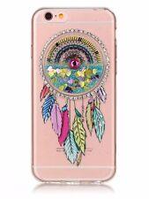 Liquid Glitter Dreamcatcher Phone Case for iPhone 6 7 7P and Samsung 8 8P