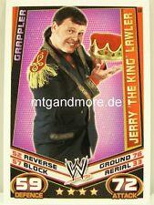 "Slam Attax Rebellion - #153  Jerry ""The King"" Lawler - Grappler"