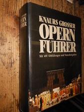 Opern Fuhrer K. Grosser 1983 MI