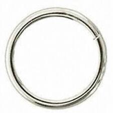 U-2 x 6.2Mm Hilason Nickel Plated Steel Wire Ring Western Tack Horse Saddle Repa