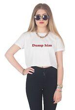 DESCARGA EL Top Corto Corto Camisa Tumblr Retro Vintage Grunge Girl Power