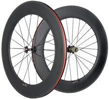 88mm Carbon Wheels Road Bike Clincher U Shape Novatec 271 Hub Shimano/Campagnolo