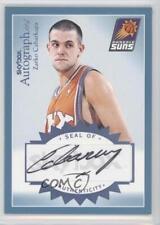 2003 Skybox Autographics Blue Autographed A-ZC Zarko Cabarkapa Phoenix Suns Auto
