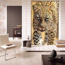 3D Dangerous Leopard 1372 Wallpaper Decal Decor Home Kids Nursery Mural Home
