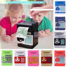 Piggy Bank Tank ATM Password Money Storage Box Cash Coin Saving Box Gift Toy