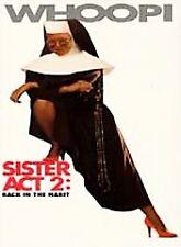 Sister Act 2  DVD Whoopi Goldberg, Kathy Najimy, Maggie Smith, Barnard Hughes, M