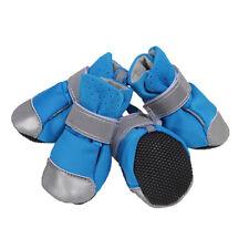 4 Stück leichte Outdoor warme Anti Rutsch Schuhe Neopren Haustier Hund