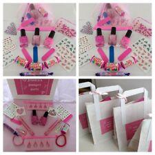 95247f518 Chicas mimar Fiesta De Pijamas Fiesta De Cumpleaños Bolsa precargada Rosa  Organza personalizado
