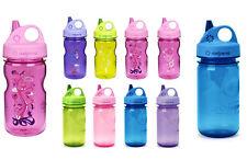 Nalgene 12oz Grip 'n Gulp BpA Free Plastic Kids Water Bottle Small Toddler New