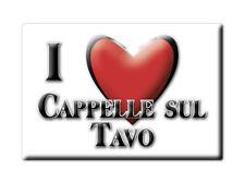 CALAMITA ABRUZZO FRIDGE MAGNET MAGNETE SOUVENIR LOVE CAPPELLE SUL TAVO (PE)--