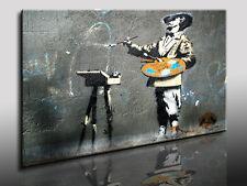 Banksy Graffiti Art Anarchy Bild Leinwandbild Kunstdruck Wandbild Posterdruck 28