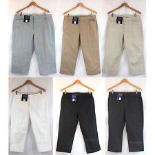 NWT Bandolino Women Maureen Stretchy Classic Capri Length Pants 6 Colors sz 4-18