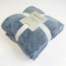 Soft Blanket Flannel Comfort Sofa Use Blanket Towel Fleece Mesh Cover Blanket