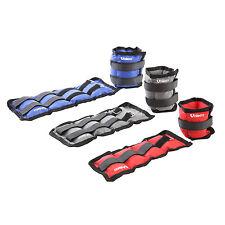 Unibest Gewichtsmanschetten Laufgewichte für Fuß- und Handgelenke 2x 1/1,5/2kg