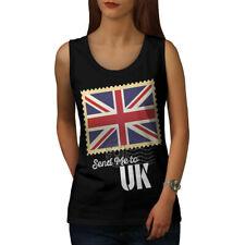 UK Flag Tourist Holiday Women Tank Top NEW | Wellcoda