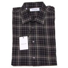 8166P camicia quadretti manica lunga AGLINI camicie uomo shirt men